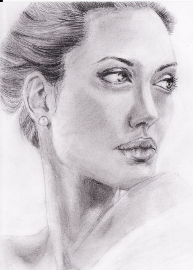 Angelina Jolie par Cerera